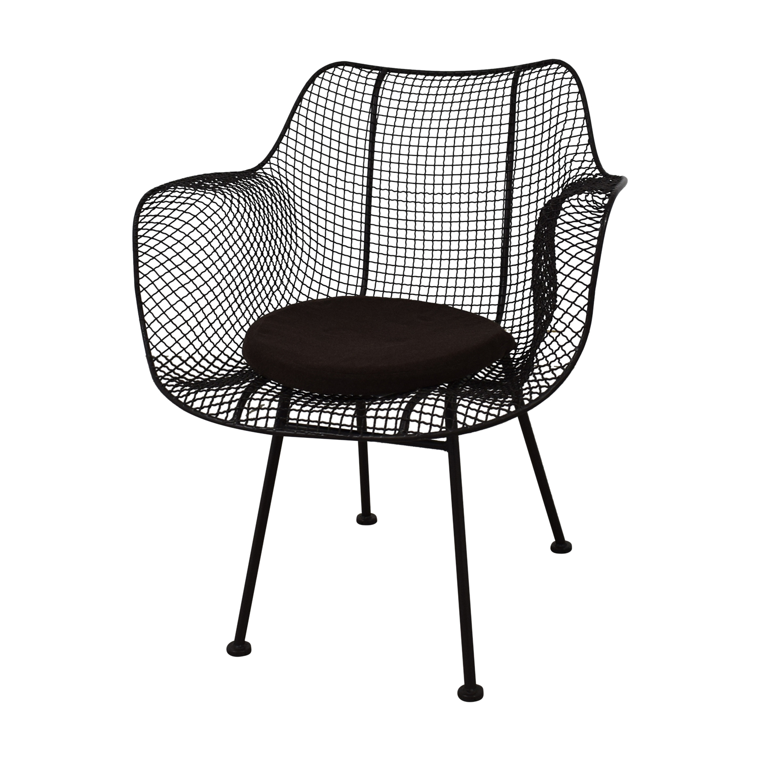 Restoration Hardware Restoration Hardware Metal Tub Dining Chairs discount