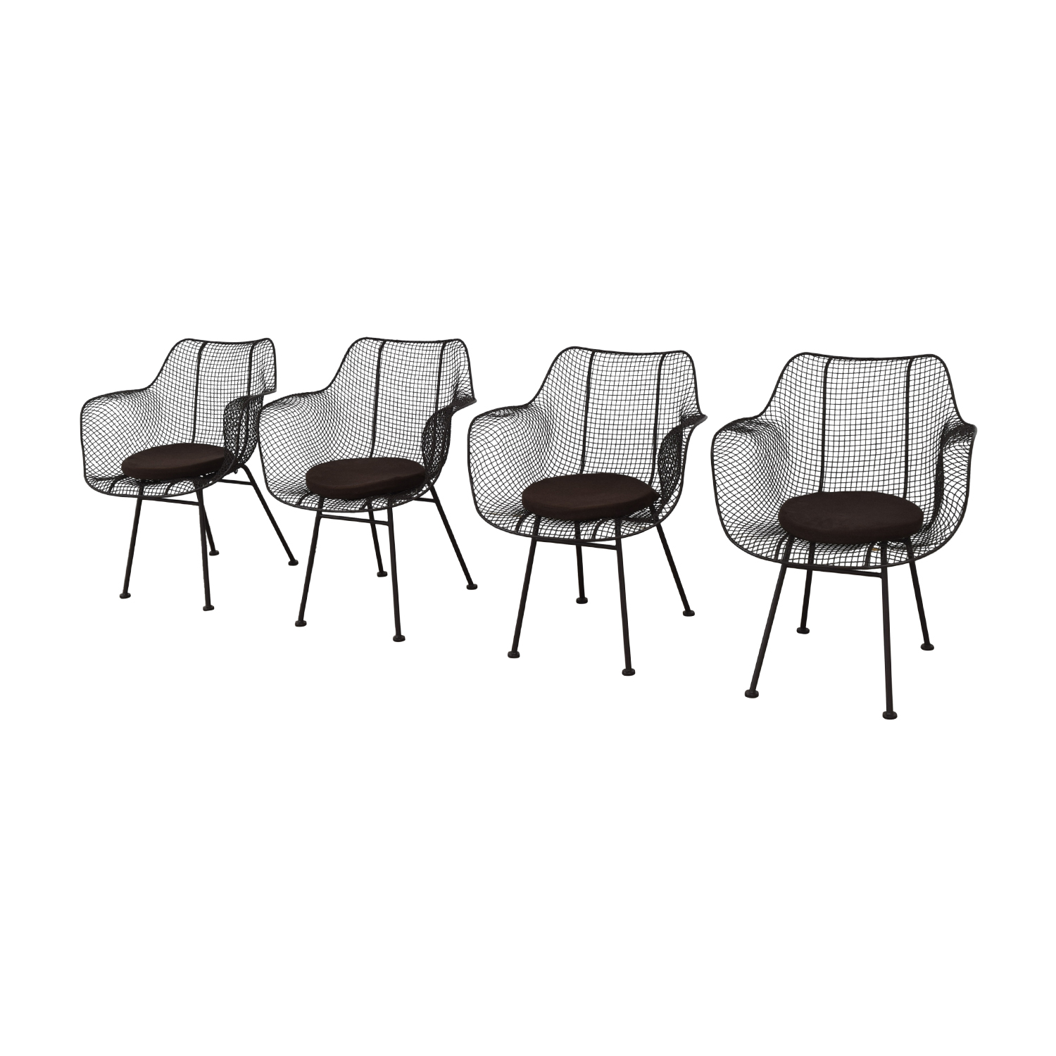 Restoration Hardware Restoration Hardware Metal Tub Dining Chairs nyc