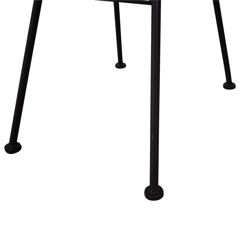Restoration Hardware Metal Tub Dining Chairs sale