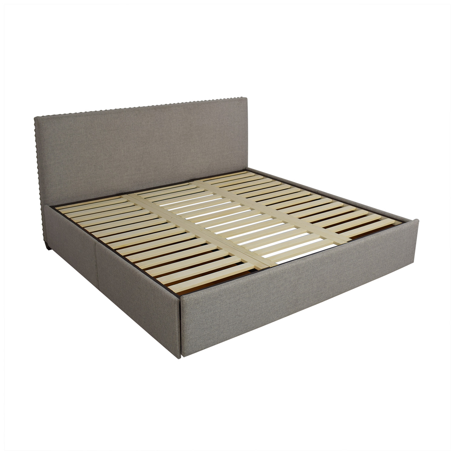 buy Pottery Barn Raleigh King Storage Bed Pottery Barn