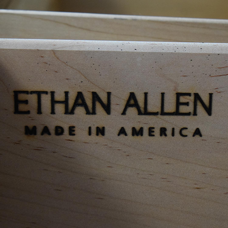 Ethan Allen Ethan Allen Matte Black Armoire nj
