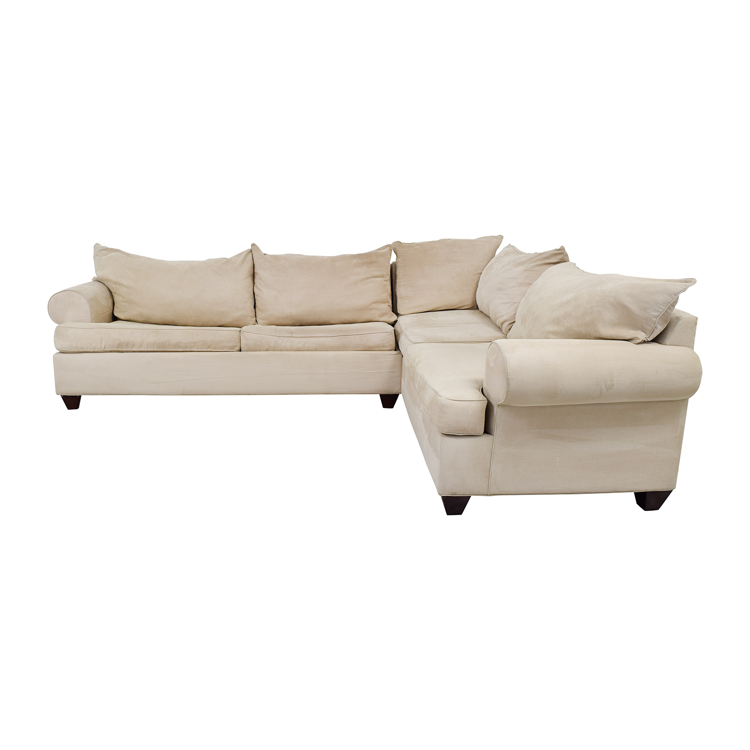 59% OFF - Raymour & Flanigan Raymour & Flanigan Sectional Sleeper Sofa /  Sofas