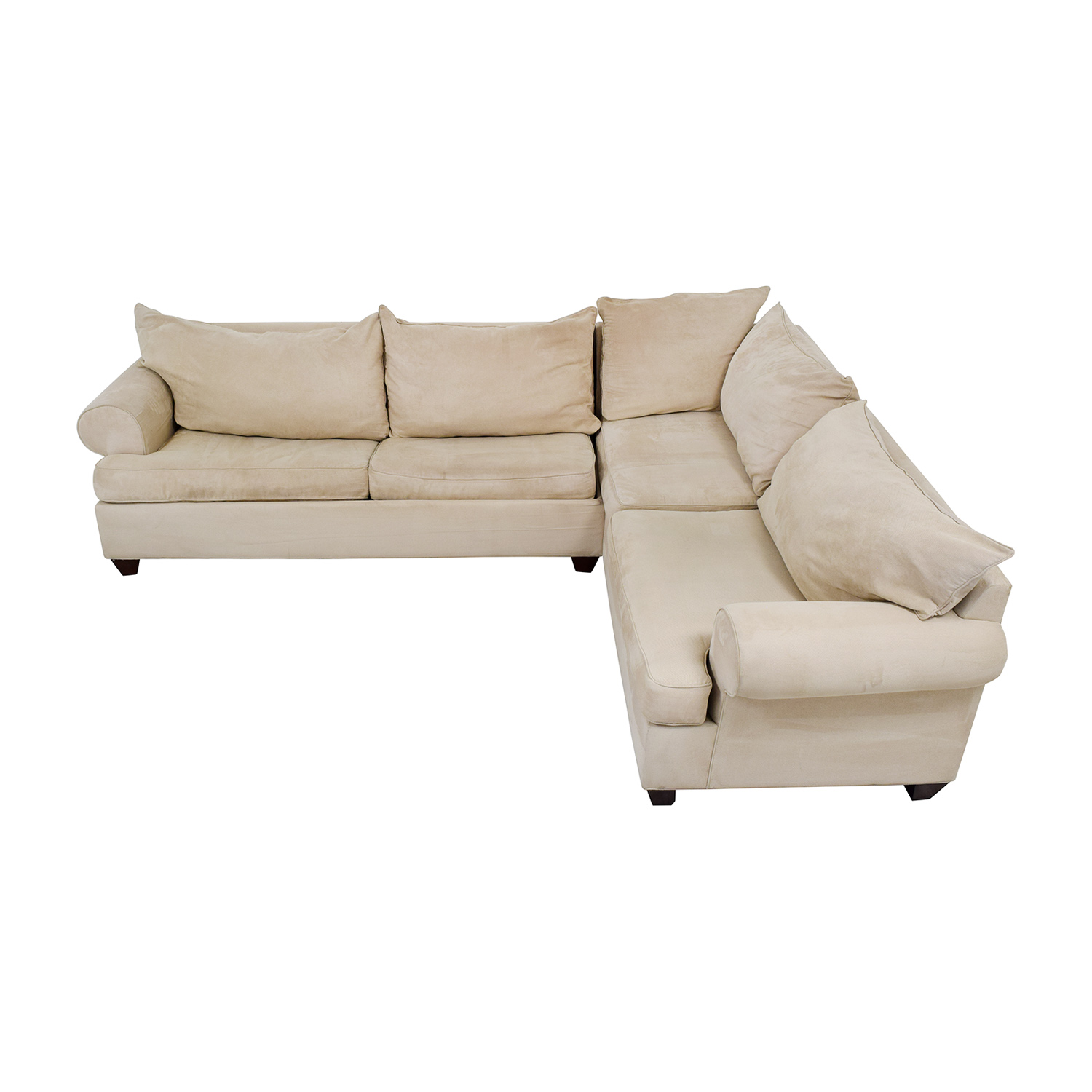 56% OFF - Raymour & Flanigan Raymour & Flanigan Sectional Sleeper Sofa /  Sofas