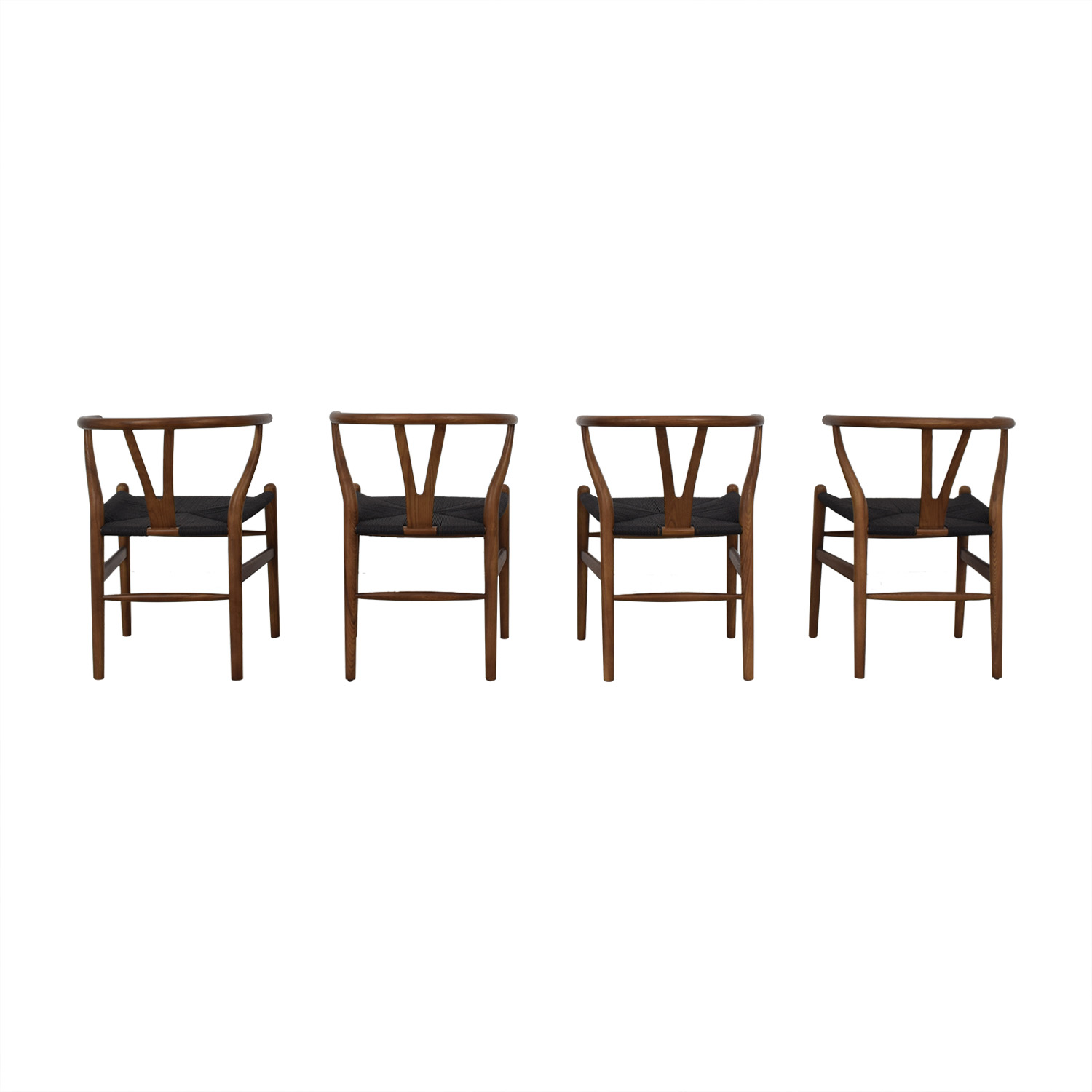 Rove Concepts Rove Concepts Wishbone Chairs second hand