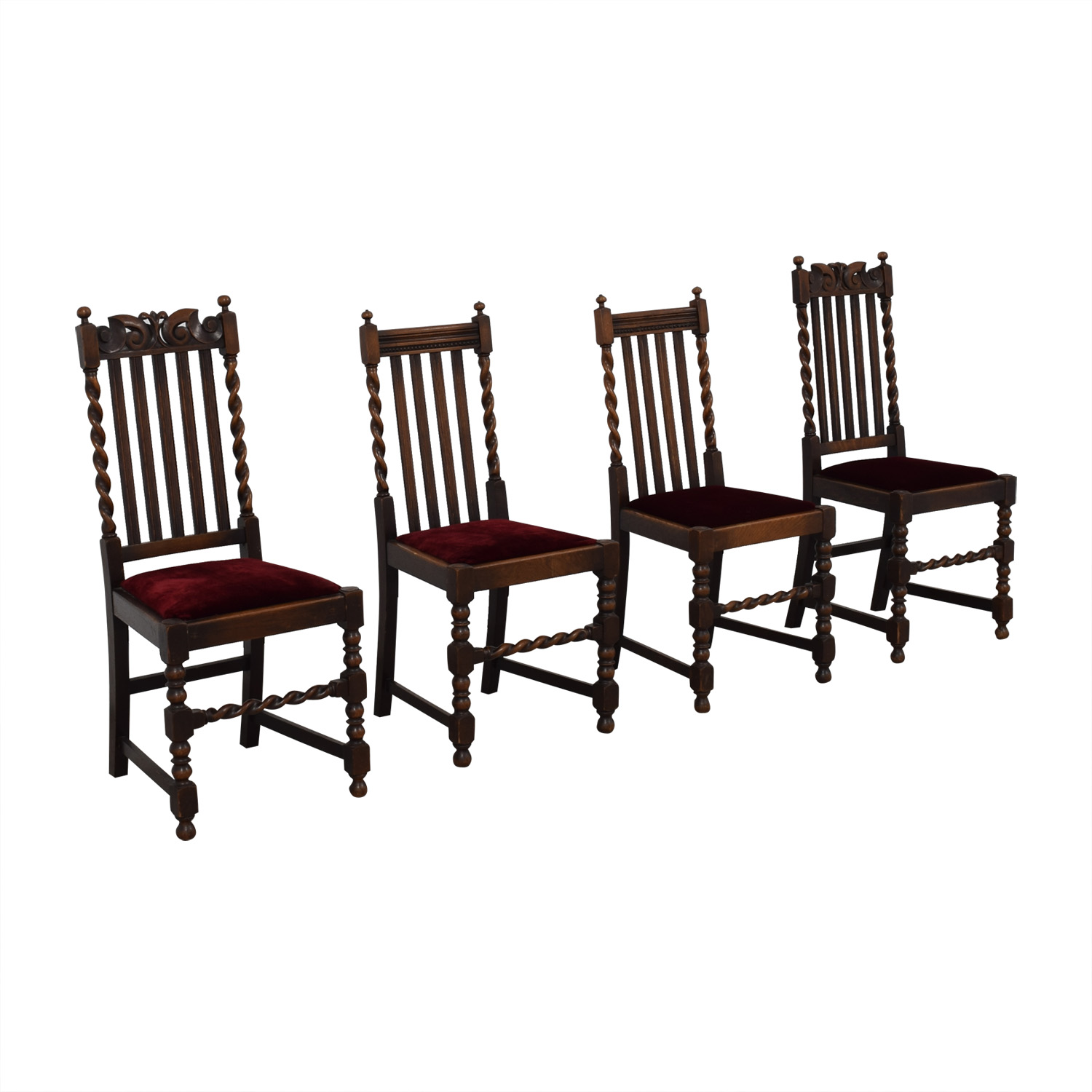 Jacobian Barley Twist Chairs Chairs