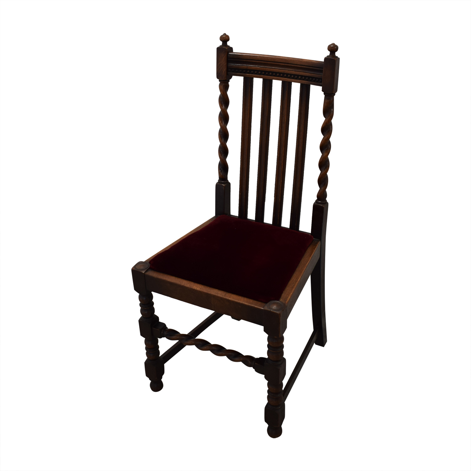 Jacobian Barley Twist Chairs Dining Chairs
