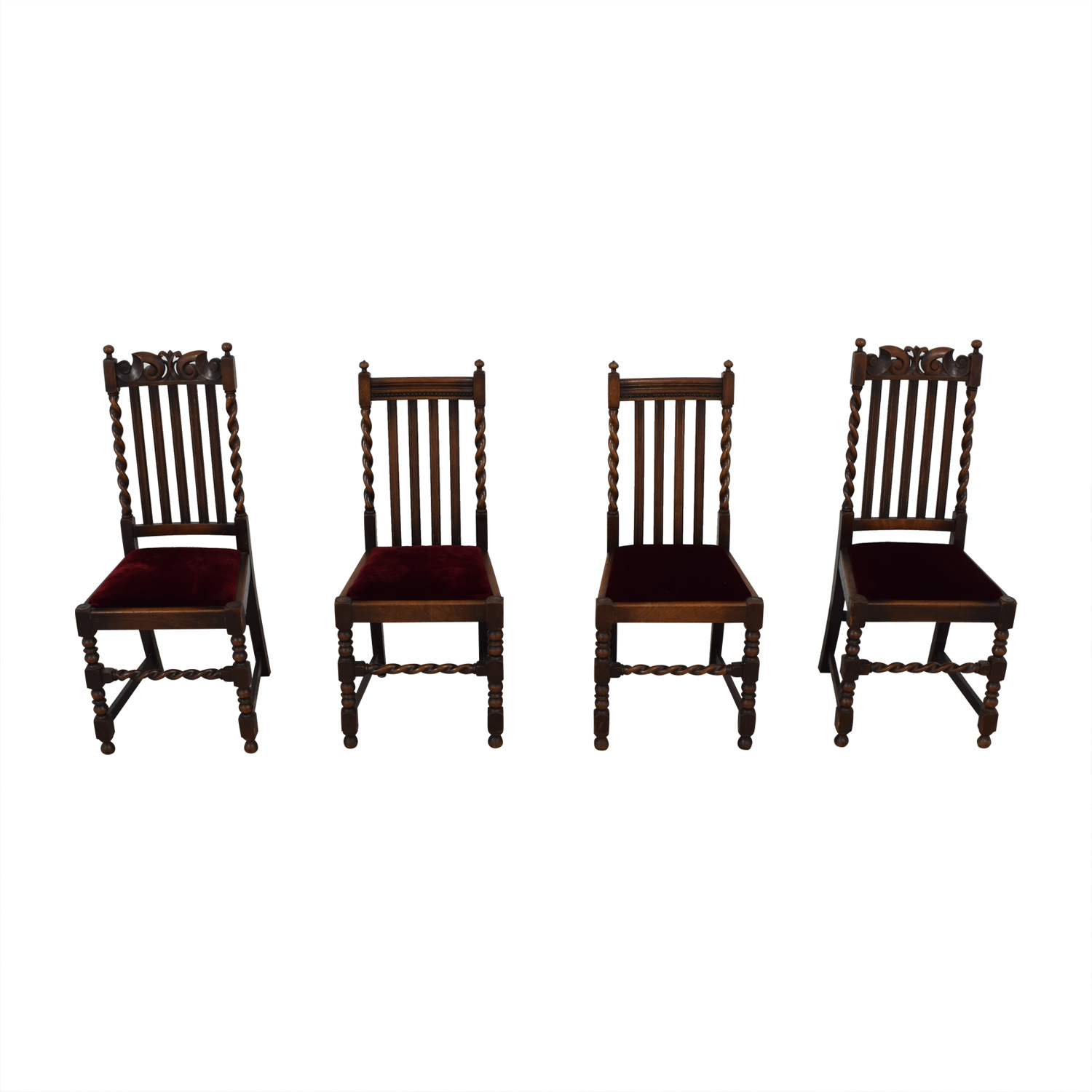 buy Jacobian Barley Twist Chairs  Chairs