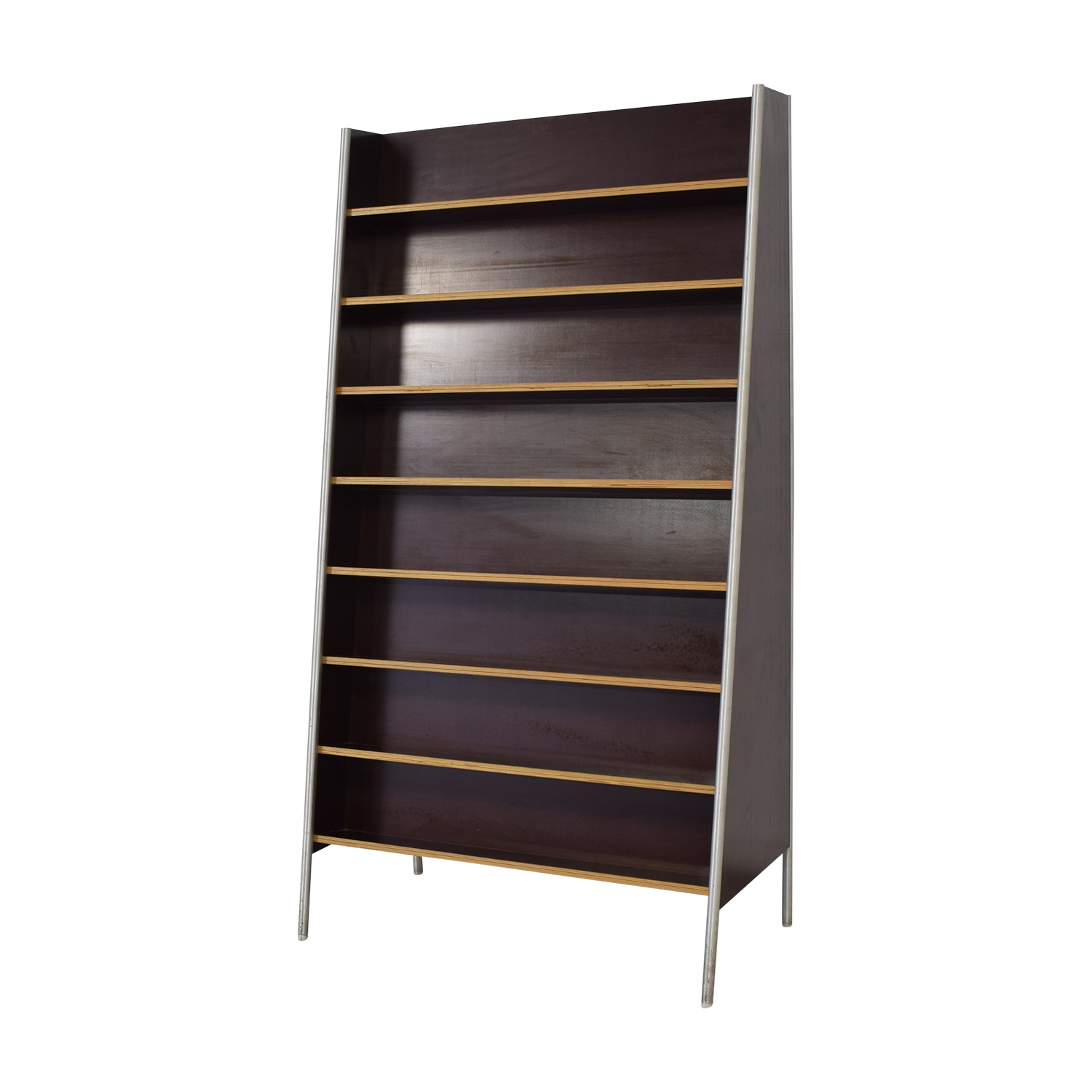 Custom Metal and Wood Bookcase coupon