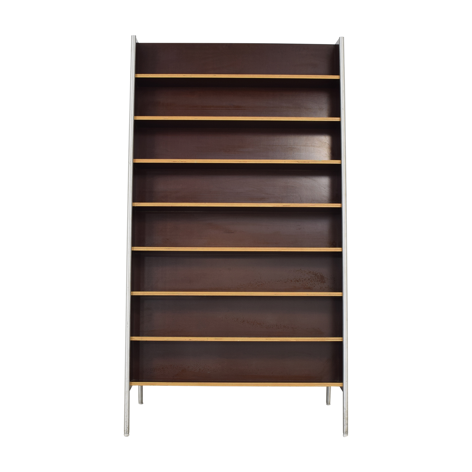 Custom Metal and Wood Bookcase / Storage
