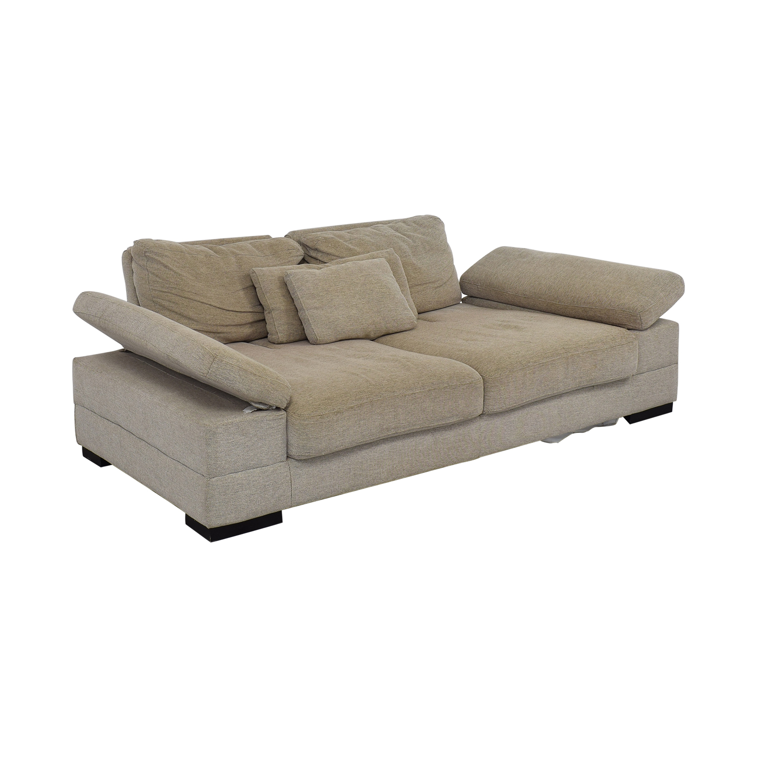 77% OFF - Lazzoni Lazzoni Kema Sectional Sofa Bed / Sofas