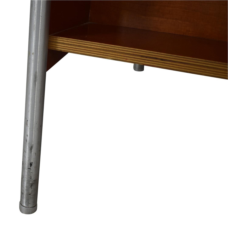 Custom Wood and Metal Bookcase price
