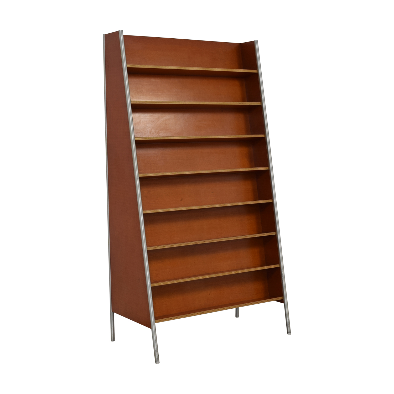Custom Wood and Metal Bookcase coupon