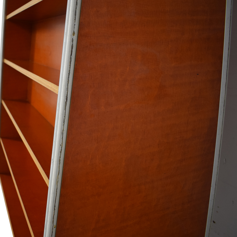 Custom Wood and Metal Bookcase nj