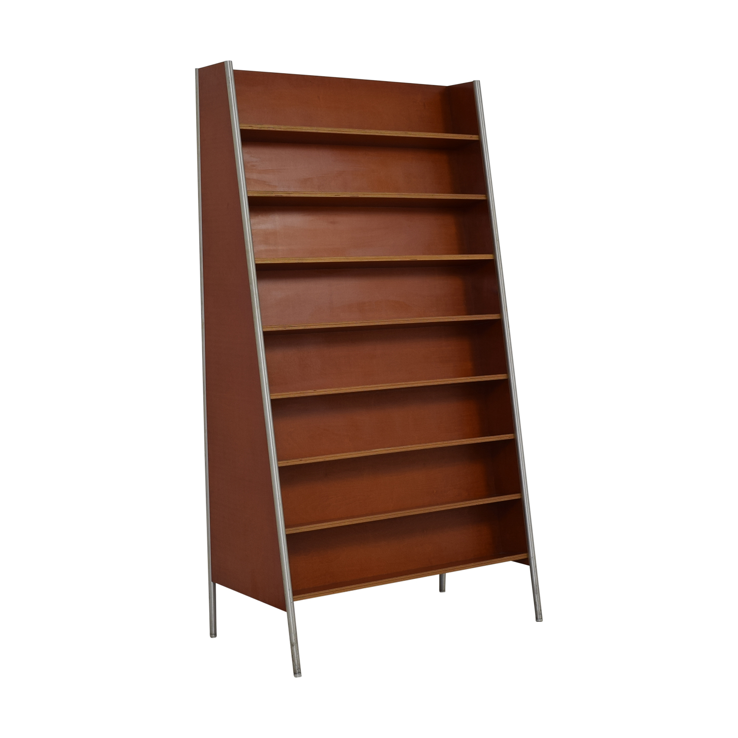shop Custom Metal and Wood Bookcase