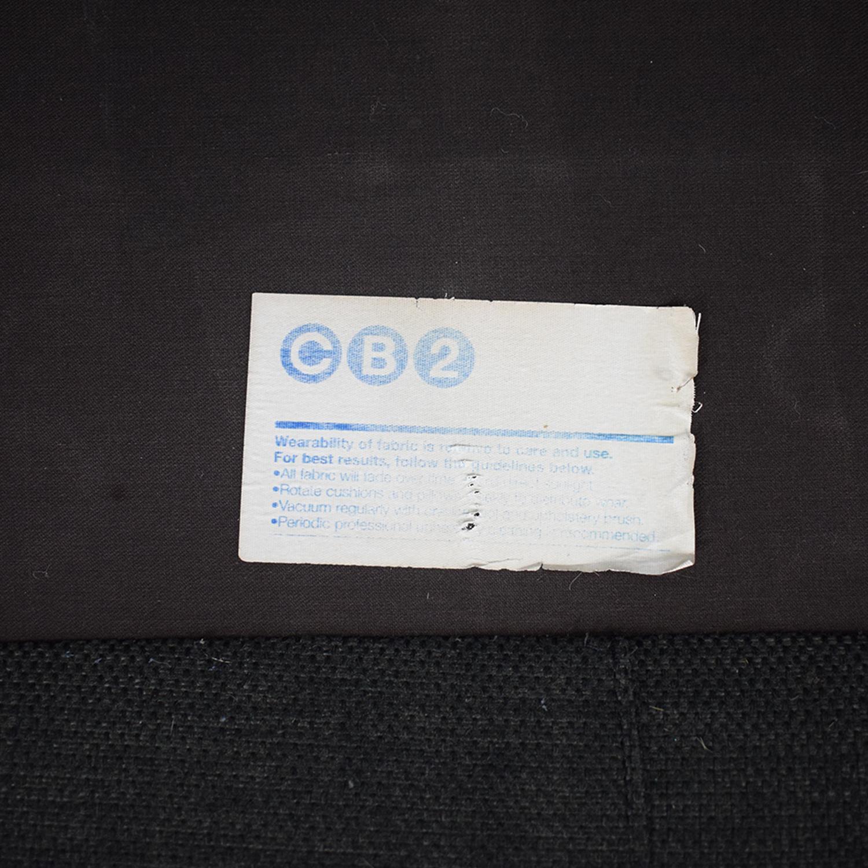 CB2 Avec Sofa Carbon / Sofas
