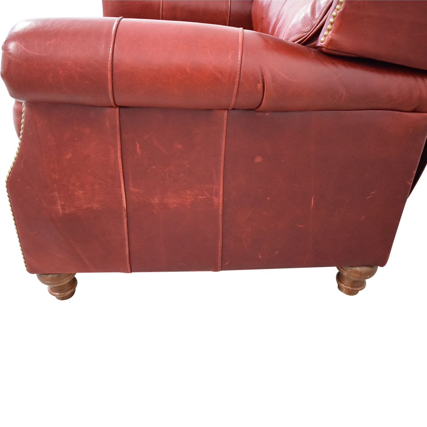 McKinley Leather Furniture McKinley Leather Recliner red