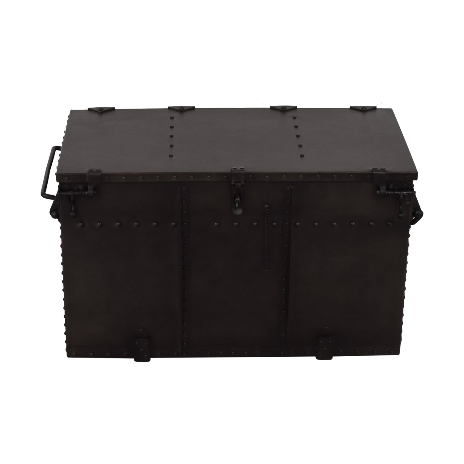 Restoration Hardware Restoration Hardware Metal Trunk used