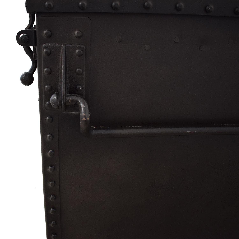 Restoration Hardware Restoration Hardware Metal Trunk Trunks