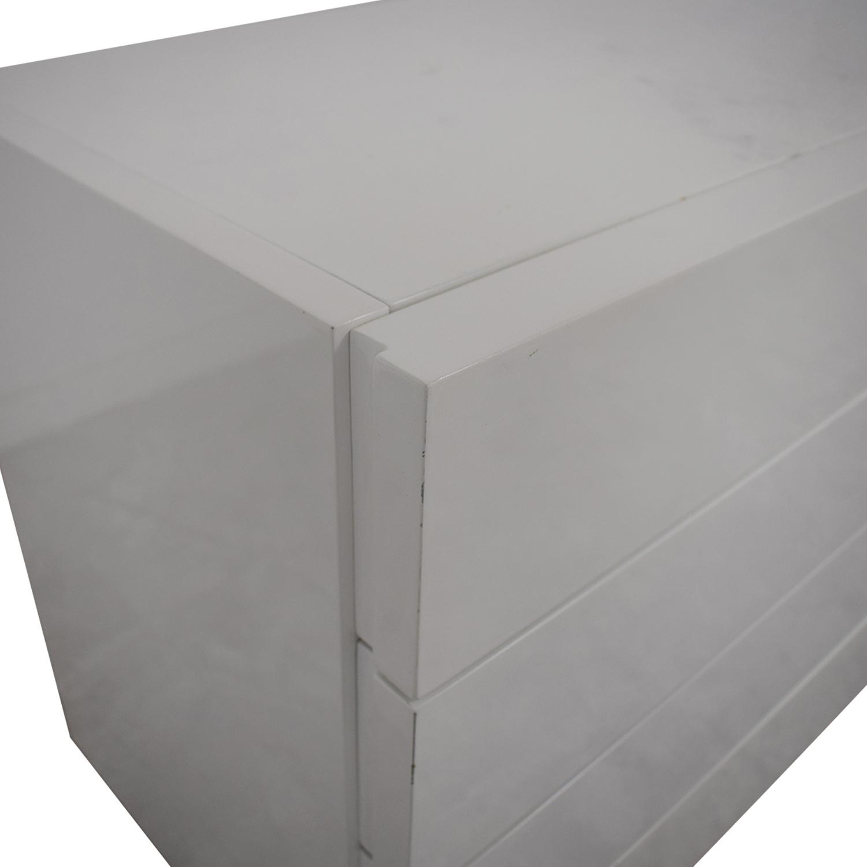 Modrest Modrest Modern White Dresser white