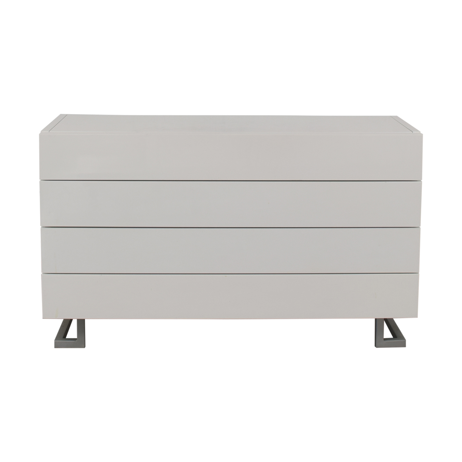 shop Modrest Modern White Dresser Modrest Storage