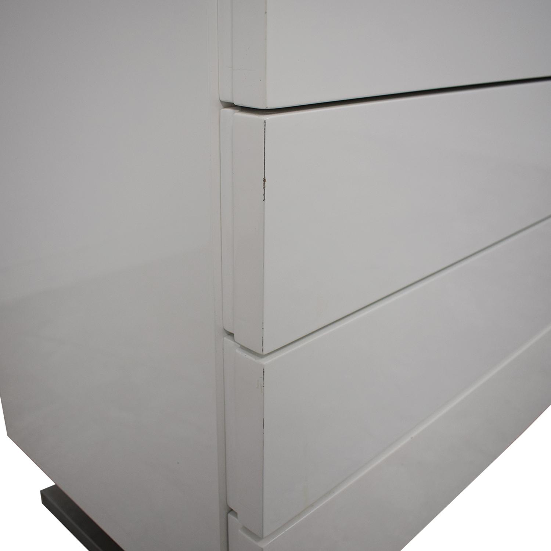 buy Modrest Modern White Dresser Modrest
