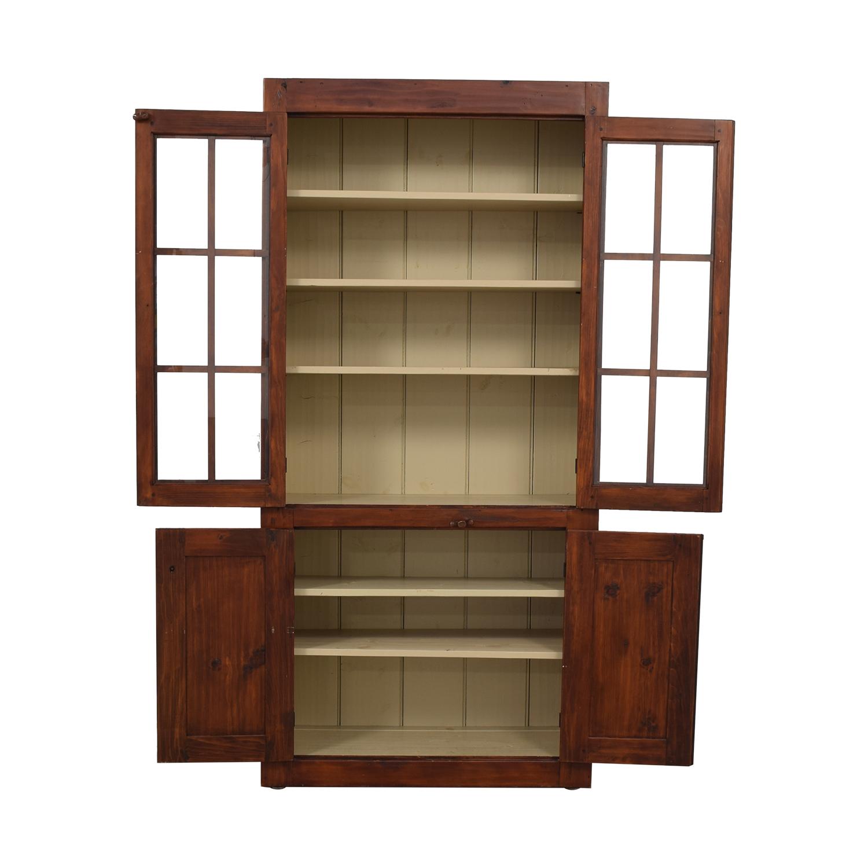 Stephen Von Hohen Stephen Von Hohen Bucks County Display Cabinet discount