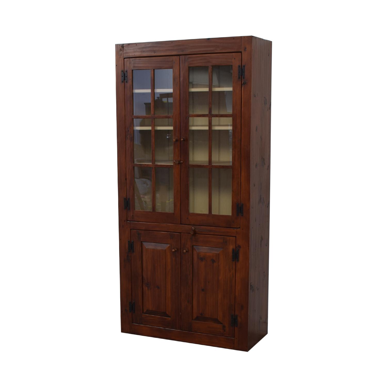 shop Stephen Von Hohen Bucks County Display Cabinet Stephen Von Hohen Wardrobes & Armoires