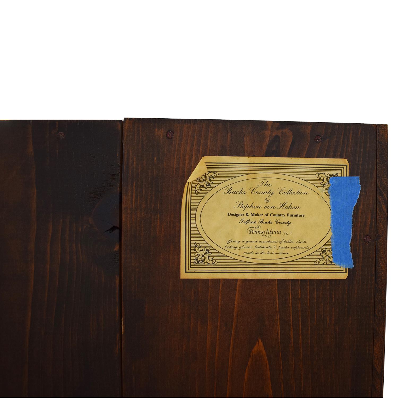 buy Stephen Von Hohen Bucks County Display Cabinet Stephen Von Hohen