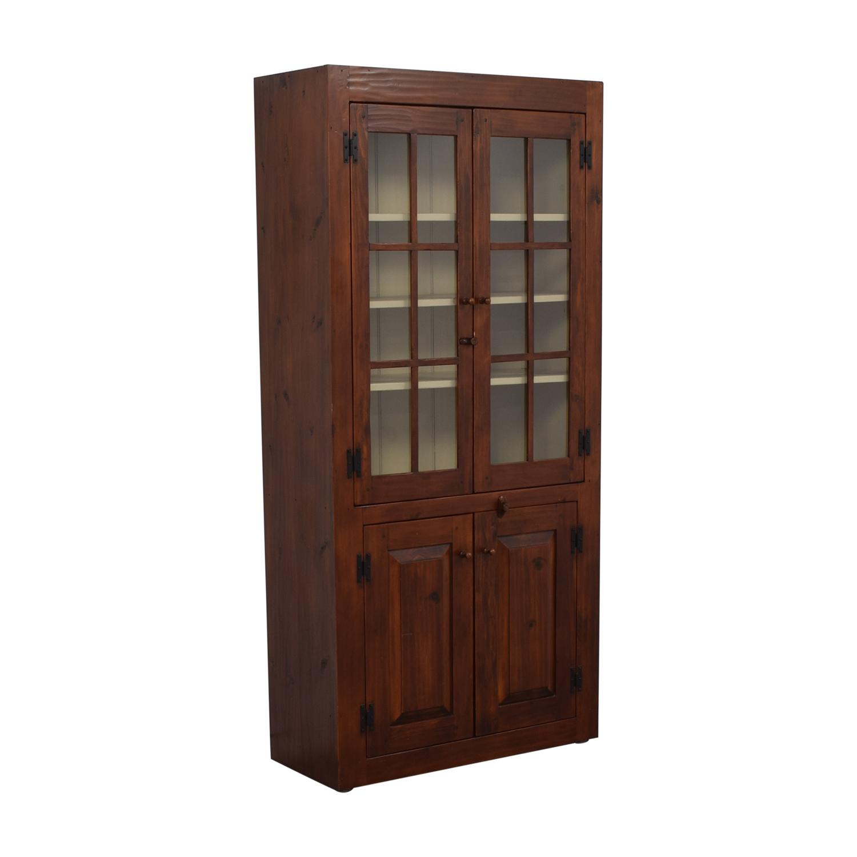 Stephen Von Hohen Stephen Von Hohen Bucks County Display Cabinet Wardrobes & Armoires