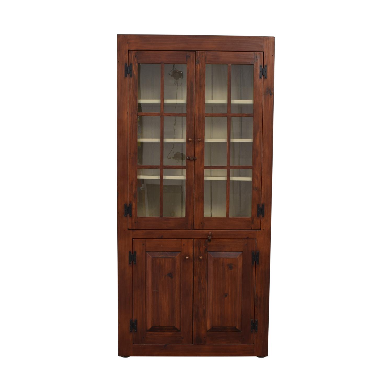 Stephen Von Hohen Stephen Von Hohen Bucks County Display Cabinet dimensions