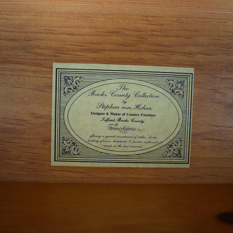 Stephen Von Hohen Bucks County Collection Cabinet sale