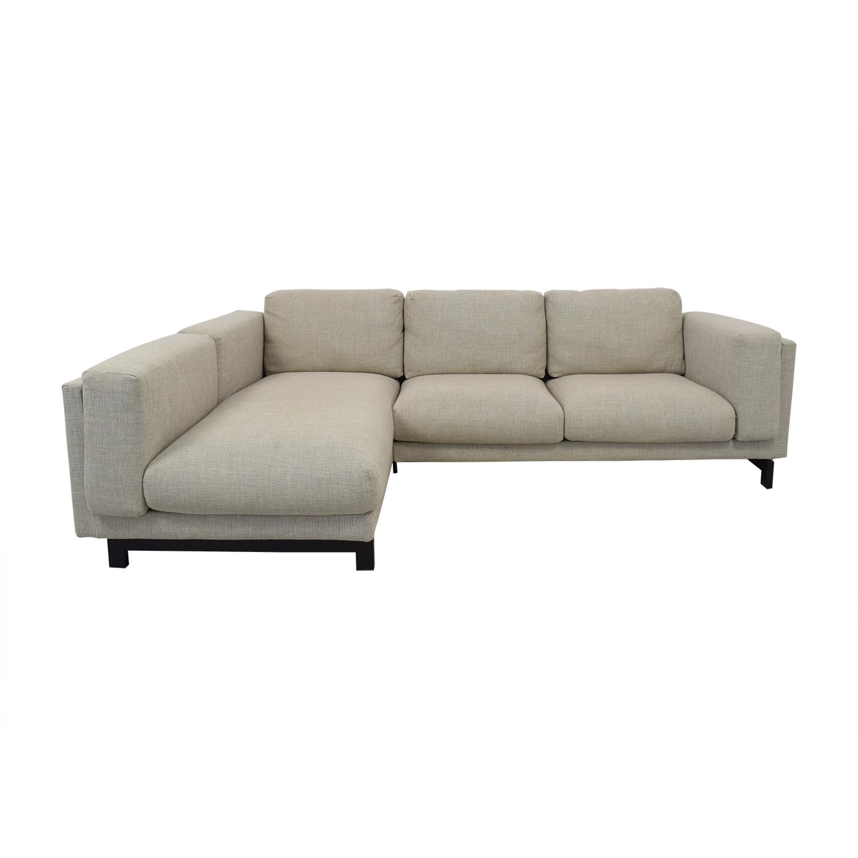 shop IKEA Nockeby 3-Seat Sofa IKEA Sofas