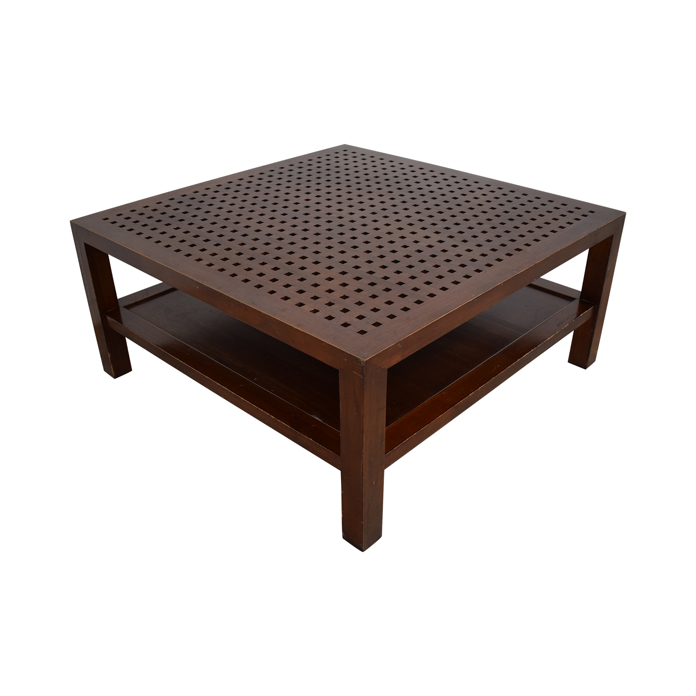 shop Room & Board by Maria Yee Grid Coffee Table Room & Board Tables