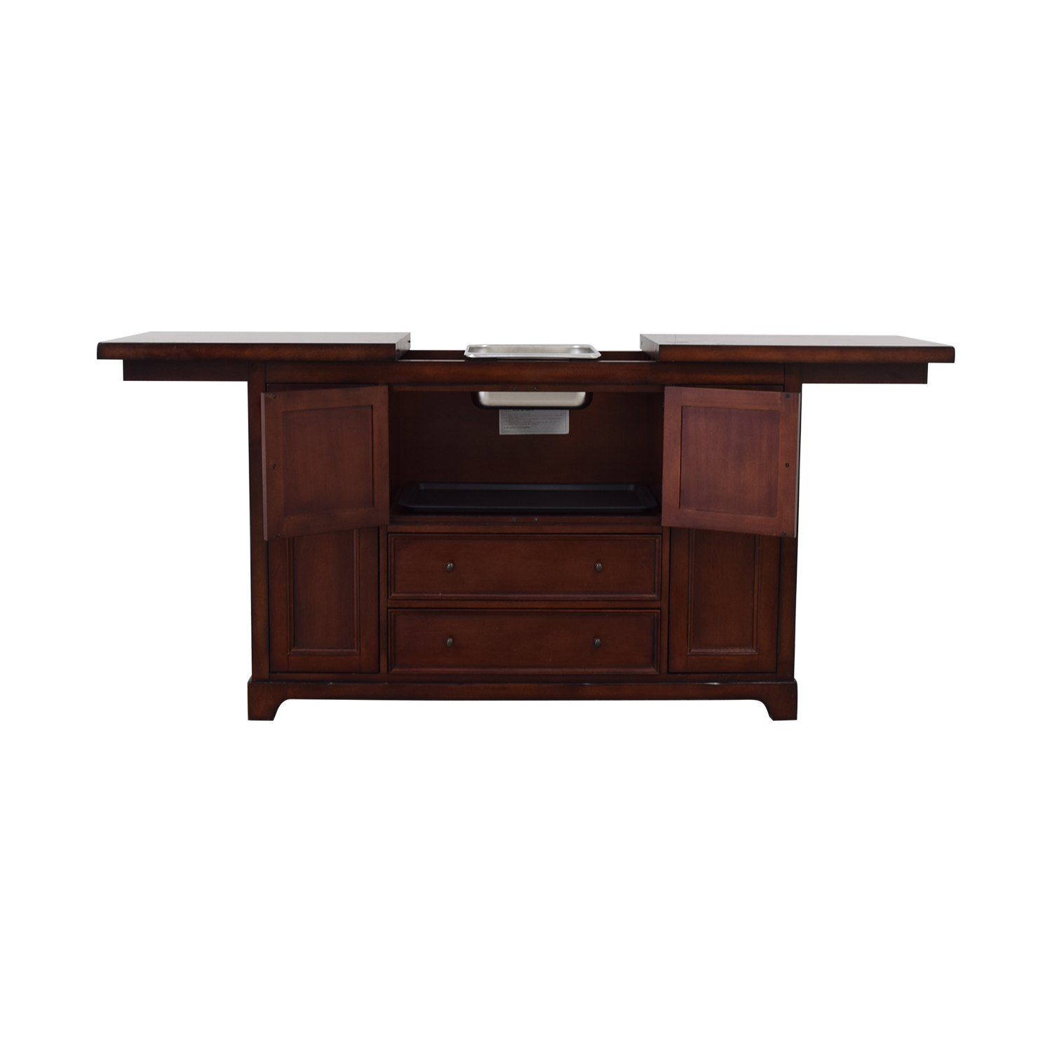 Pottery Barn Torrens Bar Cabinet / Cabinets & Sideboards