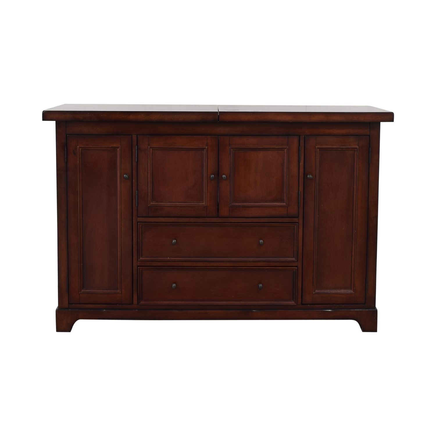 buy Pottery Barn Torrens Bar Cabinet Pottery Barn Storage