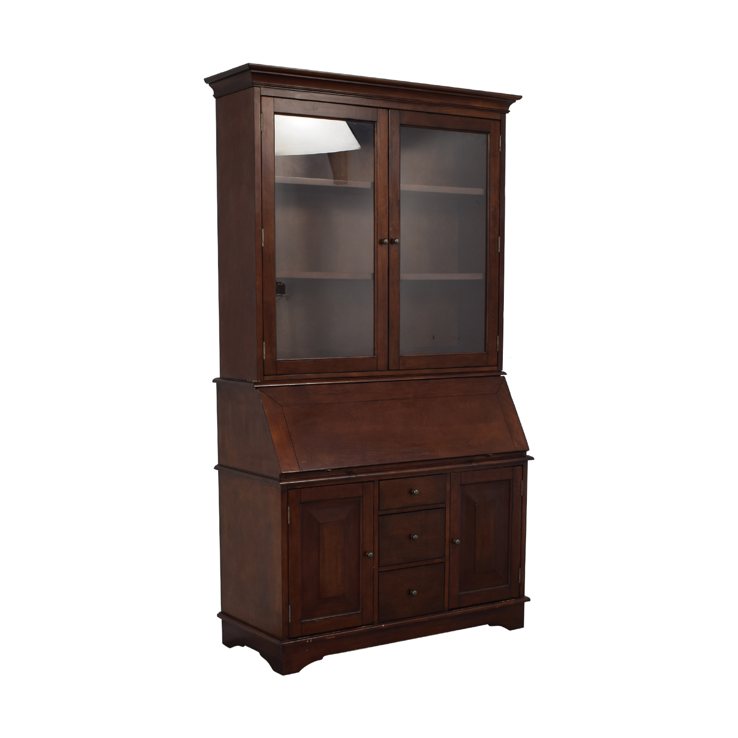 shop Pottery Barn Graham Desk and Hutch Pottery Barn Storage