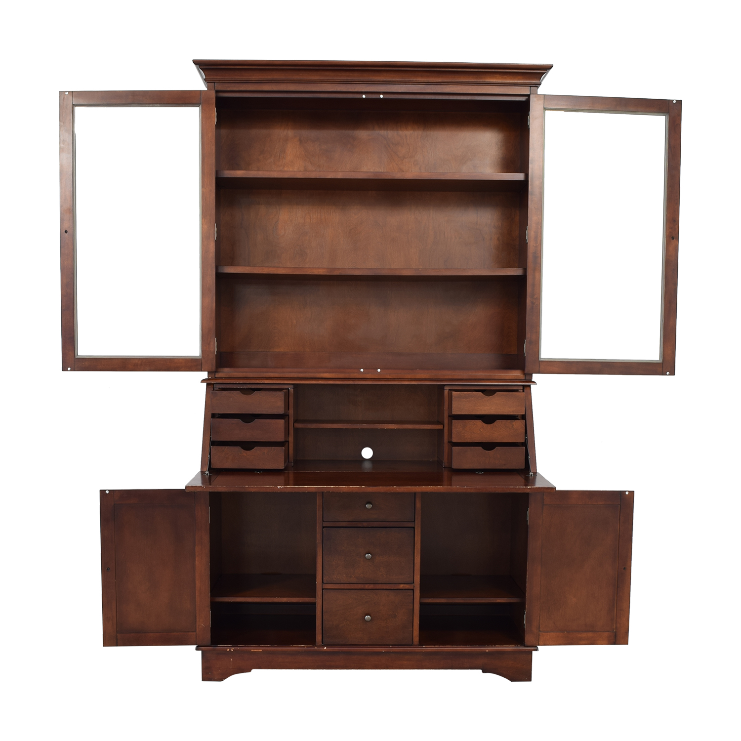 Pottery Barn Graham Desk and Hutch / Storage