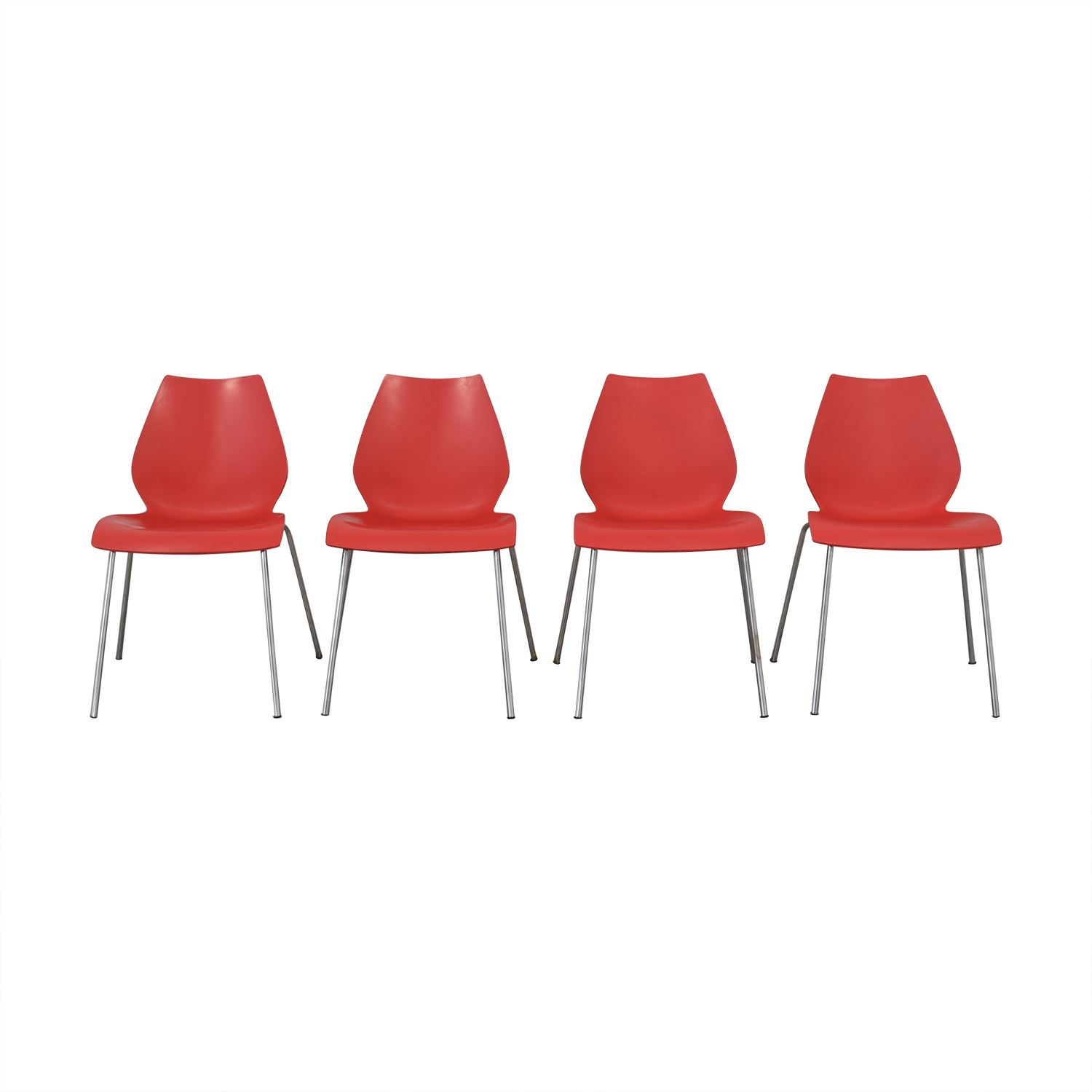 Kartell Maui Side Chairs / Dining Chairs