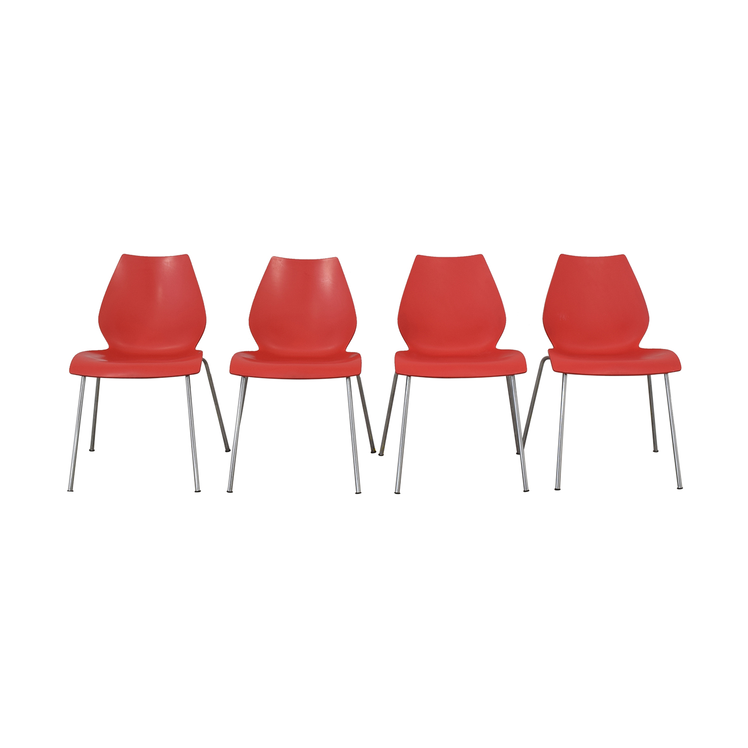 Kartell Maui by Vico Magistretti Side Chairs / Chairs