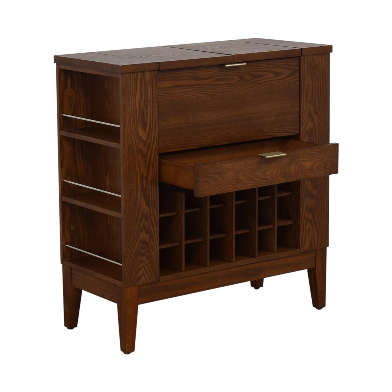Crate & Barrel Crate & Barrel Parker Spirits Cabinet used