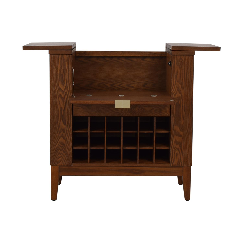 Crate & Barrel Crate & Barrel Parker Spirits Cabinet for sale