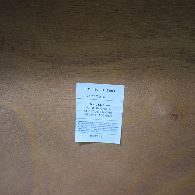 Crate & Barrel Crate & Barrel Parker Spirits Cabinet dimensions