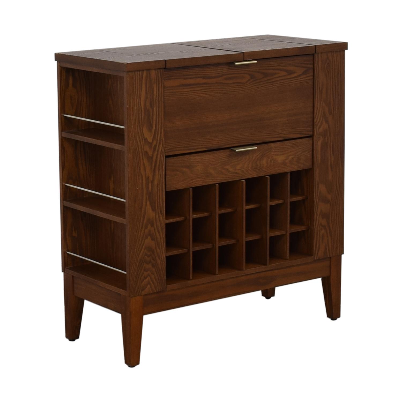 Crate & Barrel Crate & Barrel Parker Spirits Cabinet discount