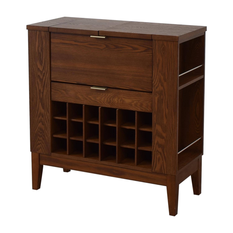 buy Crate & Barrel Crate & Barrel Parker Spirits Cabinet online