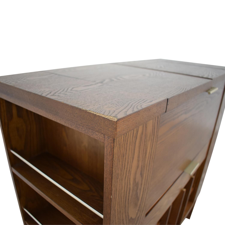 Crate & Barrel Parker Spirits Cabinet / Tables