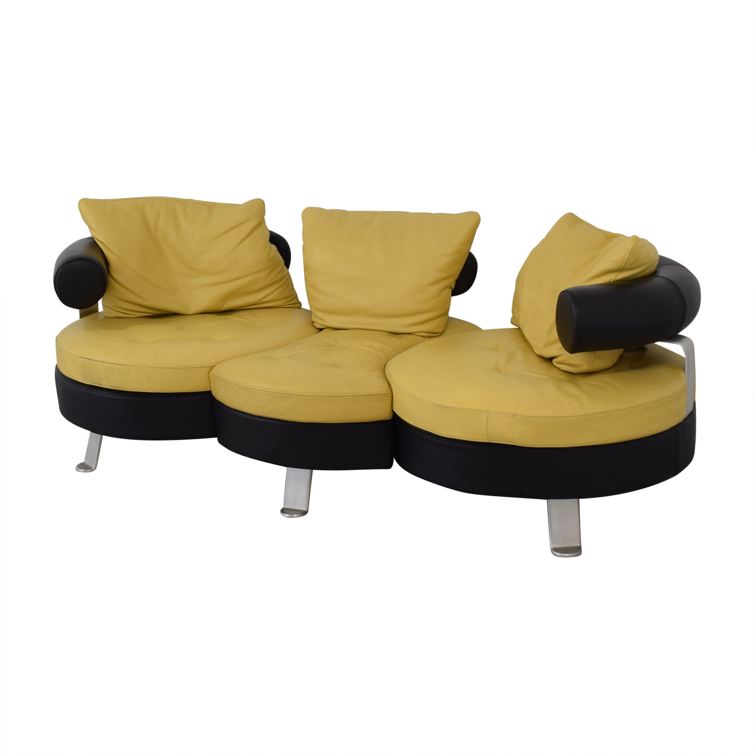Formenti Formenti Formenti Divani Contemporary Original Swivel Sofa used