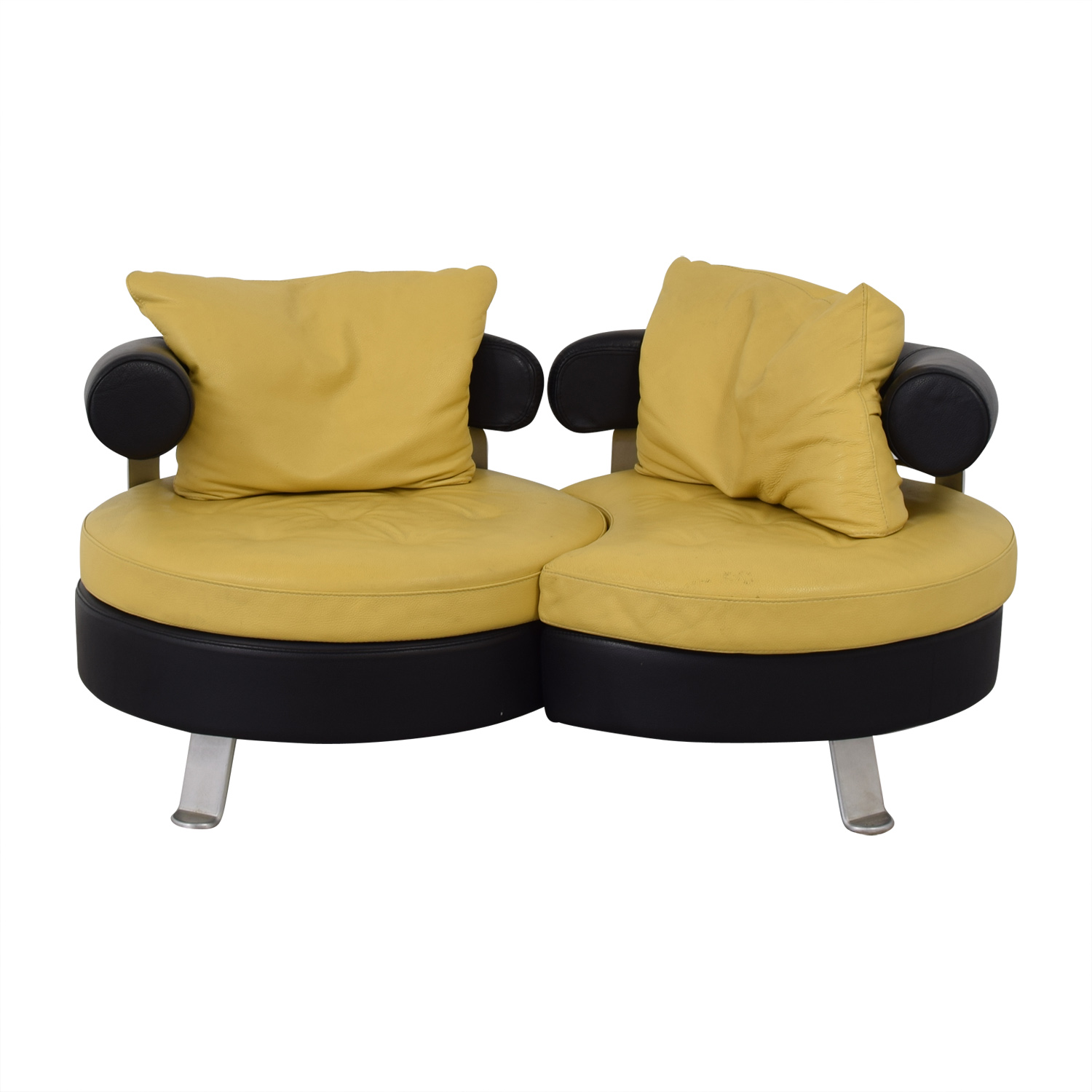 Formenti Swivel Loveseat Formenti