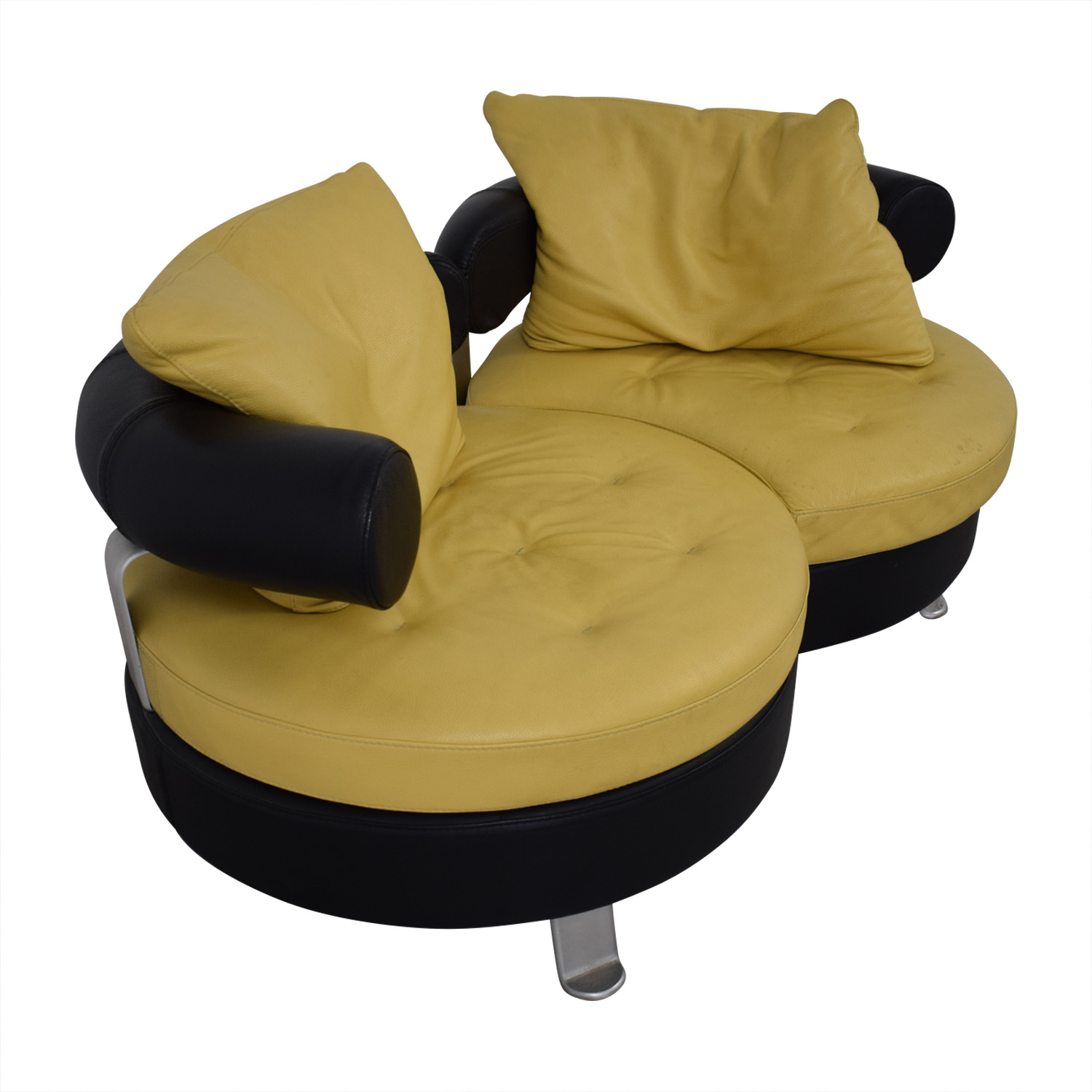 Formenti Formenti Swivel Loveseat for sale