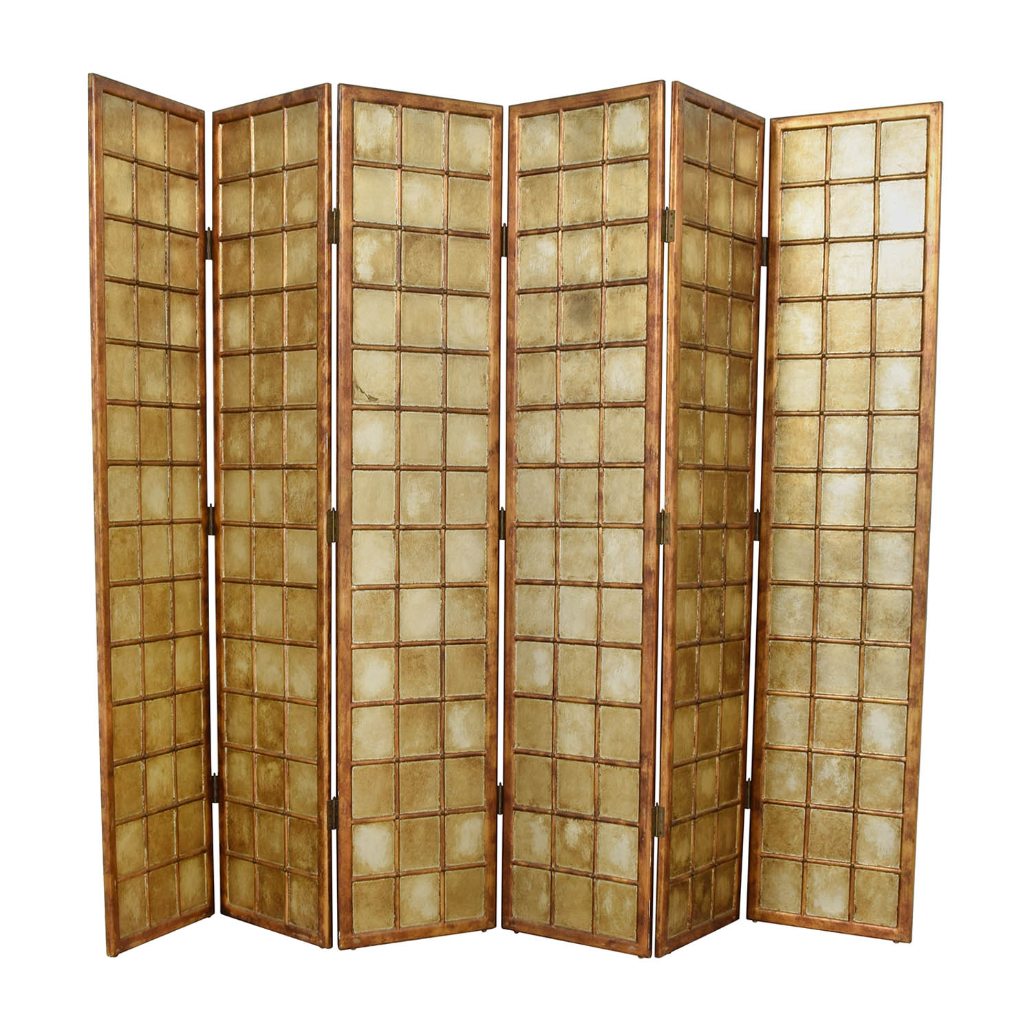 Bloomingdale's Six Panel Decorative Screen / Decor