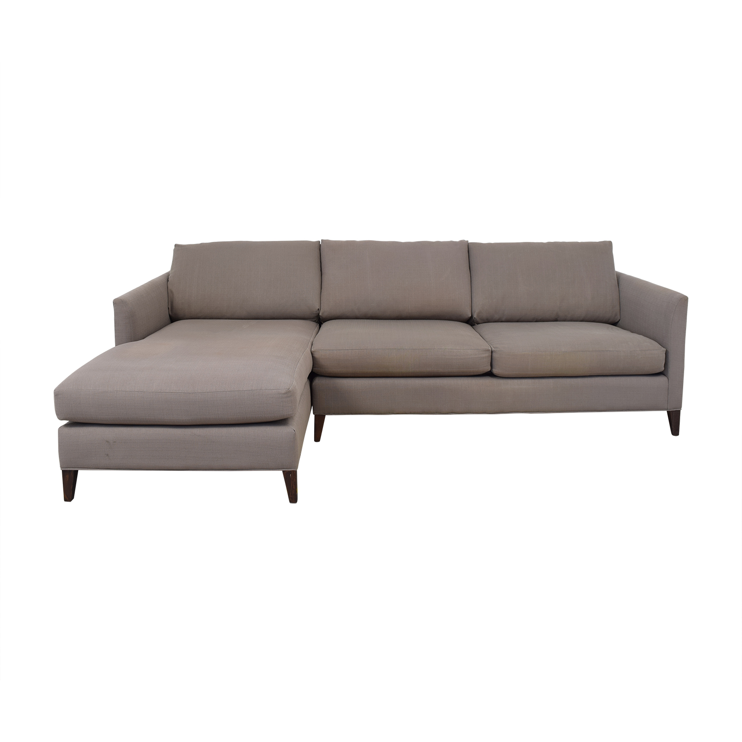 Crate & Barrel Crate & Barrel Two Piece Sectional price